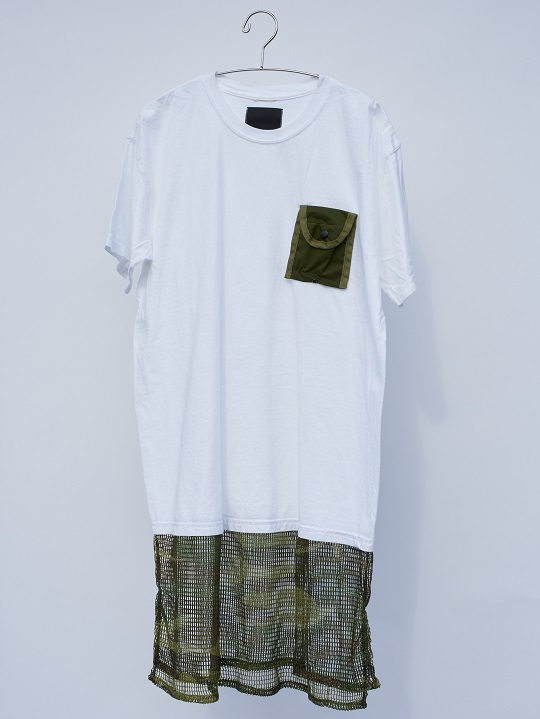 No.R-W-092-White×Woodland Camo-7500