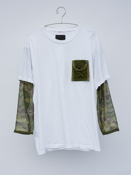 No.R-W-093-White×Woodland Camo-7500