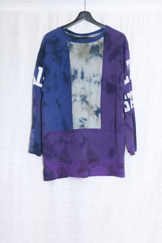 No.R-W-112-Tie dye(Black×Olive)-15000