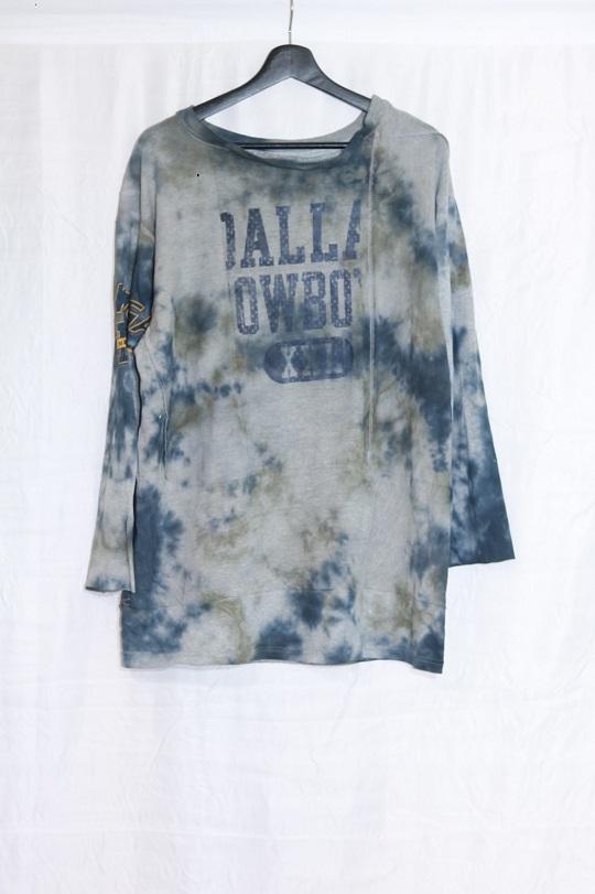 No.R-W-113-Tie dye(Black×Olive)-15000
