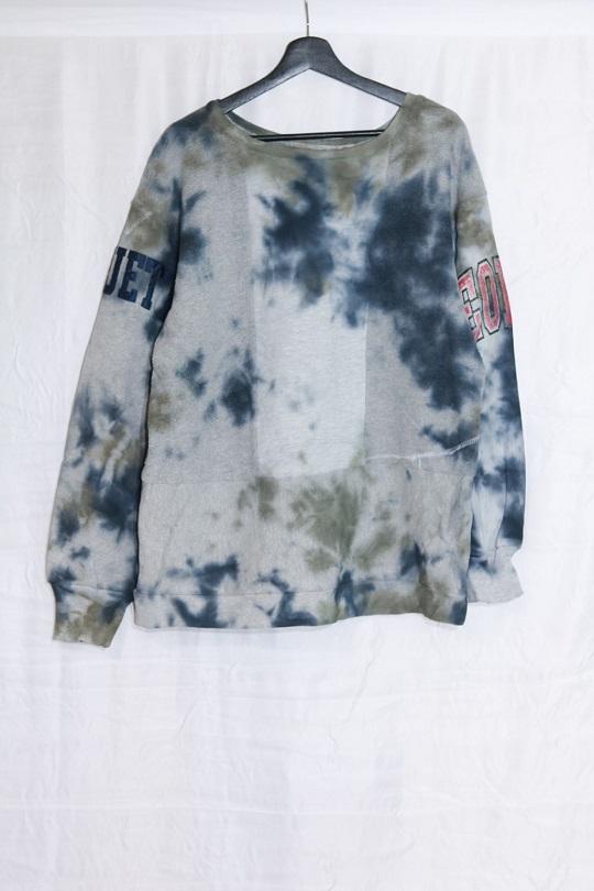 No.R-W-114-Tie dye(Black×Olive)-20000