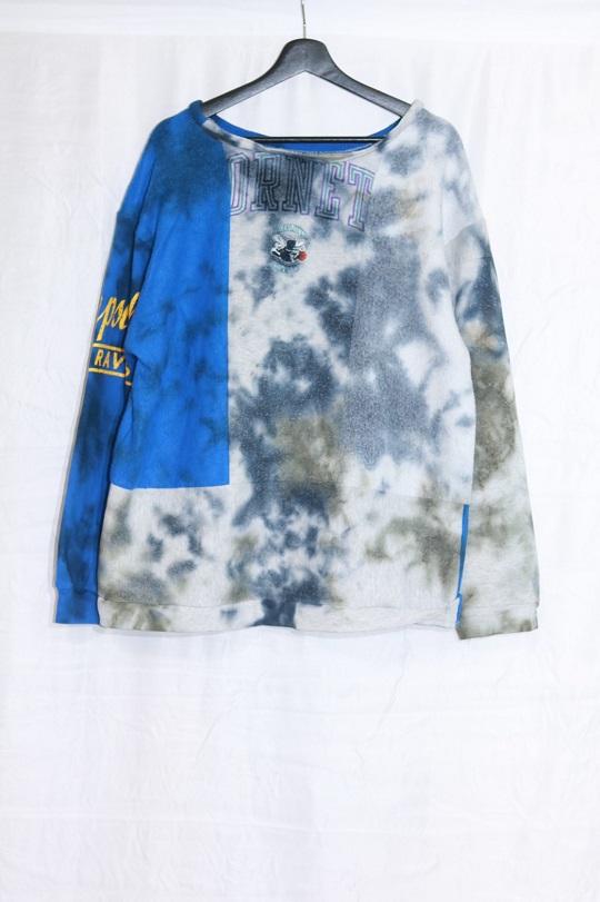 No.R-W-115-Tie dye(Black×Olive)-20000