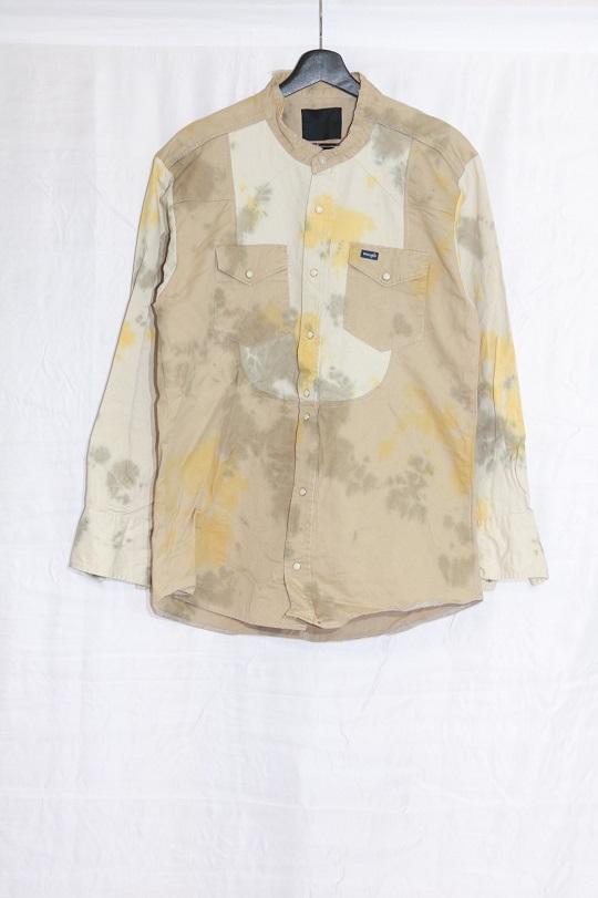 No.R-W-122-Tie dye(Orange×Olive)-18000
