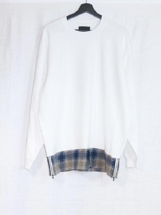 No.R-W-143-White×FLANNEL(Assort)-12500