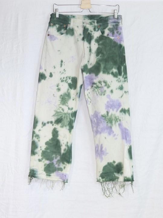 No.R-W-148-Tie dye(Purple×Green)-23000