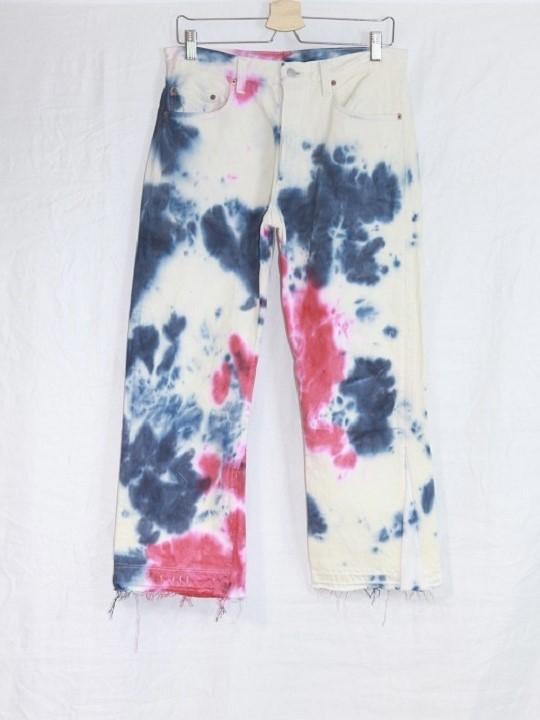 No.R-W-148-Tie dye(Red×Navy)-23000