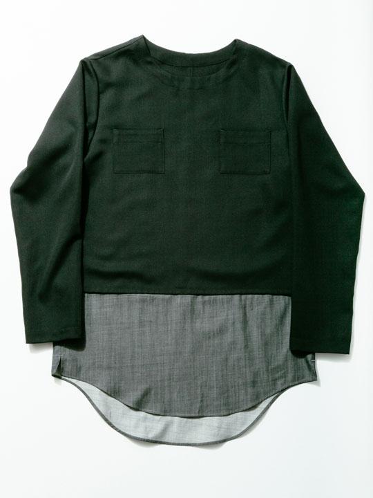 No.W-010 Black×Charcoal ¥13,000