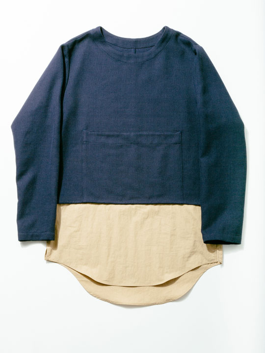 No.W-020 Navy×Beige ¥13,000.