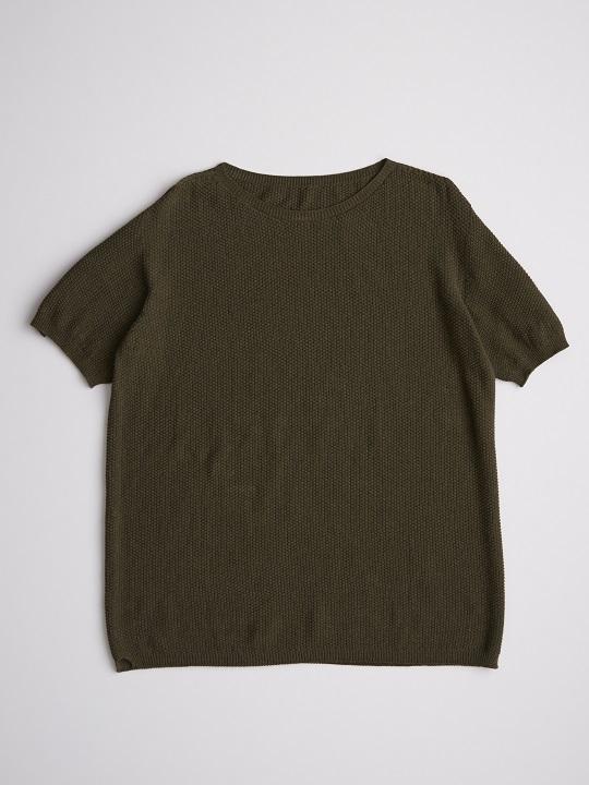 No.W-054-Olive(ザクロ・藍染め)-19,000