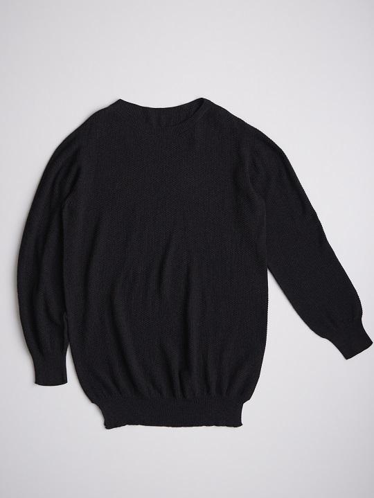 No.W-055-Black(ログウッド・藍染め)-22,000