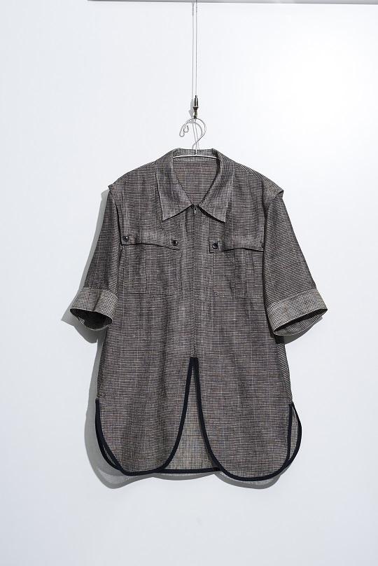 No.W-136-Black(Check)-23000